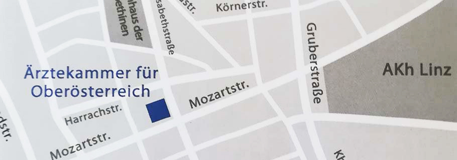 Ärztekammer für Oberösterreich / Dinghoferstraße 4 / 4010 Linz