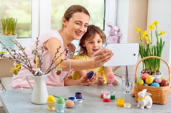 Ostern muss angesichts der steigenden Infektionszahlen virutell stattfinden.